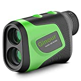 Golf Rangefinder, Ginour Laser Rangefinder for Golf, 1100 Yards Rechargeable Rangefinders with Slope Continuous Scan, High-Precision Fast Focus Flag Lock with Vibration, 6X Magnification for Hunting