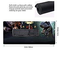ジュラシック パーク JURASSIC PARK (4)ゲーミングマウスパッド超大型 ゲーミング 防水 洗える 滑り止め デスクマット デスク マット マウスパッド マウスパッド ワイヤレスマウスパッド オフィス 最高高級感 ファッション パソコンマットマウスパッド 耐久性