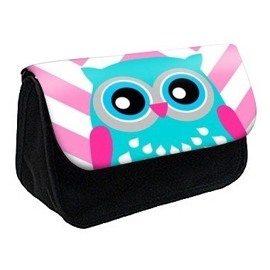 Youdesign - Trousse à crayons / maquillage hibou -163 - Ref: 163