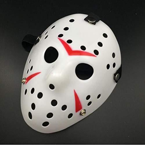 Aisoway La Máscara del Horror De Hockey Jason Miedo Máscaras De Halloween Cosplay del Partido De La Mascarada