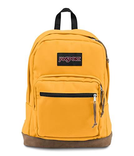 Jansport Unisex-Erwachsene Rucksack mit rechter Packung, O/S, English Mustard