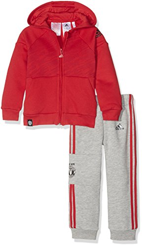 adidas adidas I MM MANU FZ HD - Sweatshirt - Junge, Rot, 74