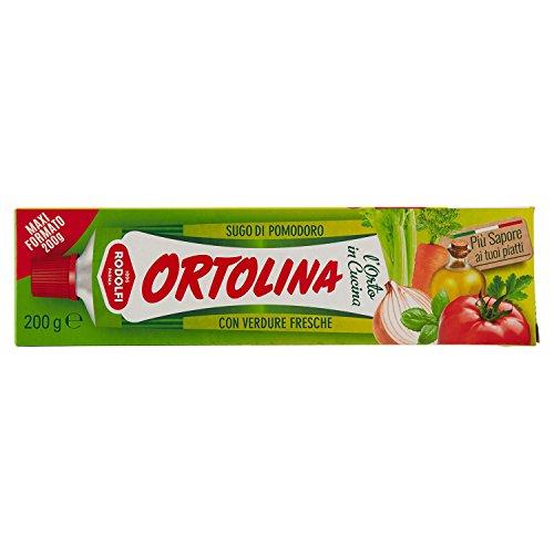 Mansueto Sugo Ortolina / Tomatenmark gewürzt mit Gemüse 200 gr.