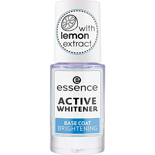 essence ACTIVE WHITENER BASE COAT BRIGHTENING - 3er Pack