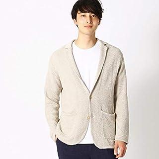 コムサイズムメンズ(COMME CA ISM) 綿麻 鹿の子編み ニットジャケット