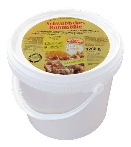 Hepp GmbH & Co KG - Schwäbisches Rahmsössle 1200 GR Eimerchen