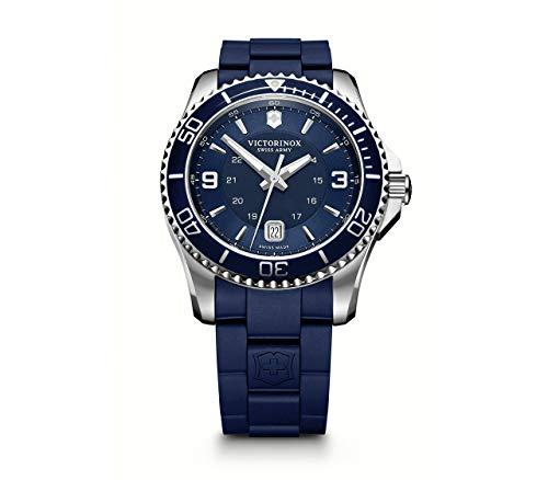 Victorinox Hombre Maverick - Reloj de Acero Inoxidable de Cuarzo analógico de fabricación Suiza 241603