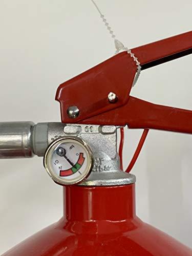 Grupo Cano Lopera | Extintor Universal Polvo Seco ABC con Capacidad de 6 Kg | Homologado | Eficacia 34A - 233B | Útil para Barcos - Casa - Caravana - Camión - Oficina - Restaurante | Incluye soporte