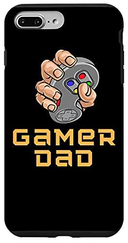 iPhone 7 Plus/8 Plus Worlds Best Dad Ever Gamer Hand Holding Controller Design Case