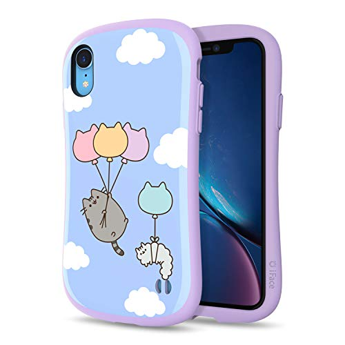 iFace x Pusheen The Cat First Class Series iPhone XR Case – Cute Dual Layer [TPU and Polycarbonate] Hybrid Shockproof Protective Cover [Drop Tested] – Blue Sky Balloon