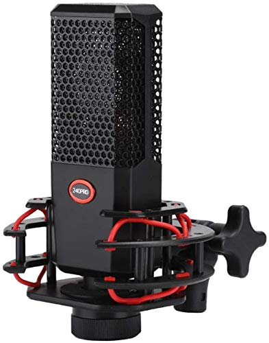 420Pro USB-microfoon Cardioïde Professionele schokdempende studio-opnamemicrofoon voor live streamen, uitzenden, opnemen, YouTube