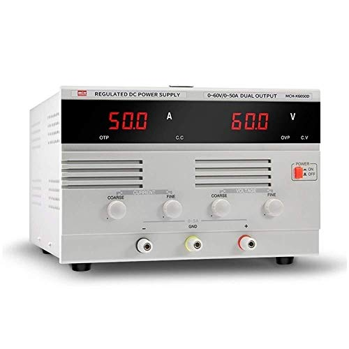 La conmutación variable Alta precisión MCH-K6050D fuente de alimentación DC 0-60V 50A DC constante ajustable actual Chapado de alta potencia de la fuente de alimentación eléctrica Mejoras