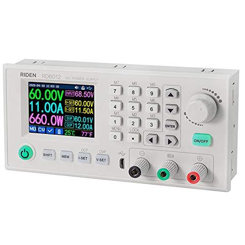 Labornetzgerät DC Labornetzteil Netzteil variabel verstellbar Laborbank Netzteil WiFi Buck Konverter Step Down Switching Reguliert 4-Digital LCD Display 30V 60V 6A (12A)