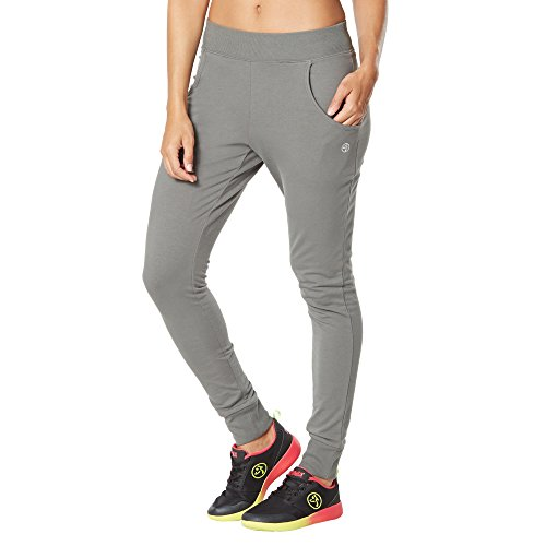 Zumba Fitness Damen WB Other Bootcamp Jogger Pants, Go for Gunmetal, S