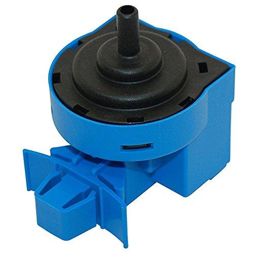 Pequeño interruptor lineal de presión para lavadoras Indesit (2,5 0: 300 mm), de Spares2Go Fitment List J