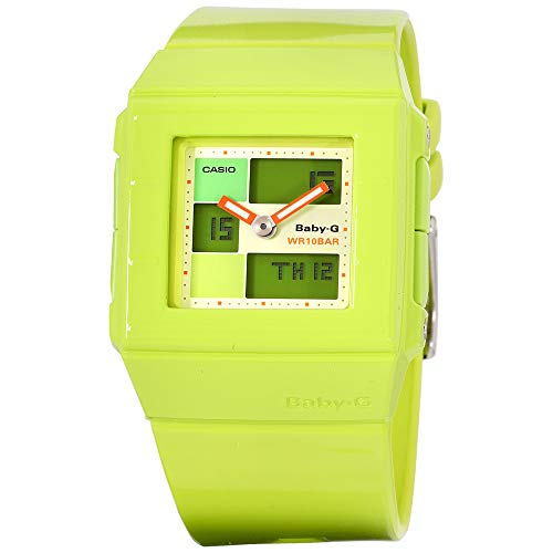 Casio Baby-G Quartz Movement Green Dial Ladies Watch BGA-200-3EDR