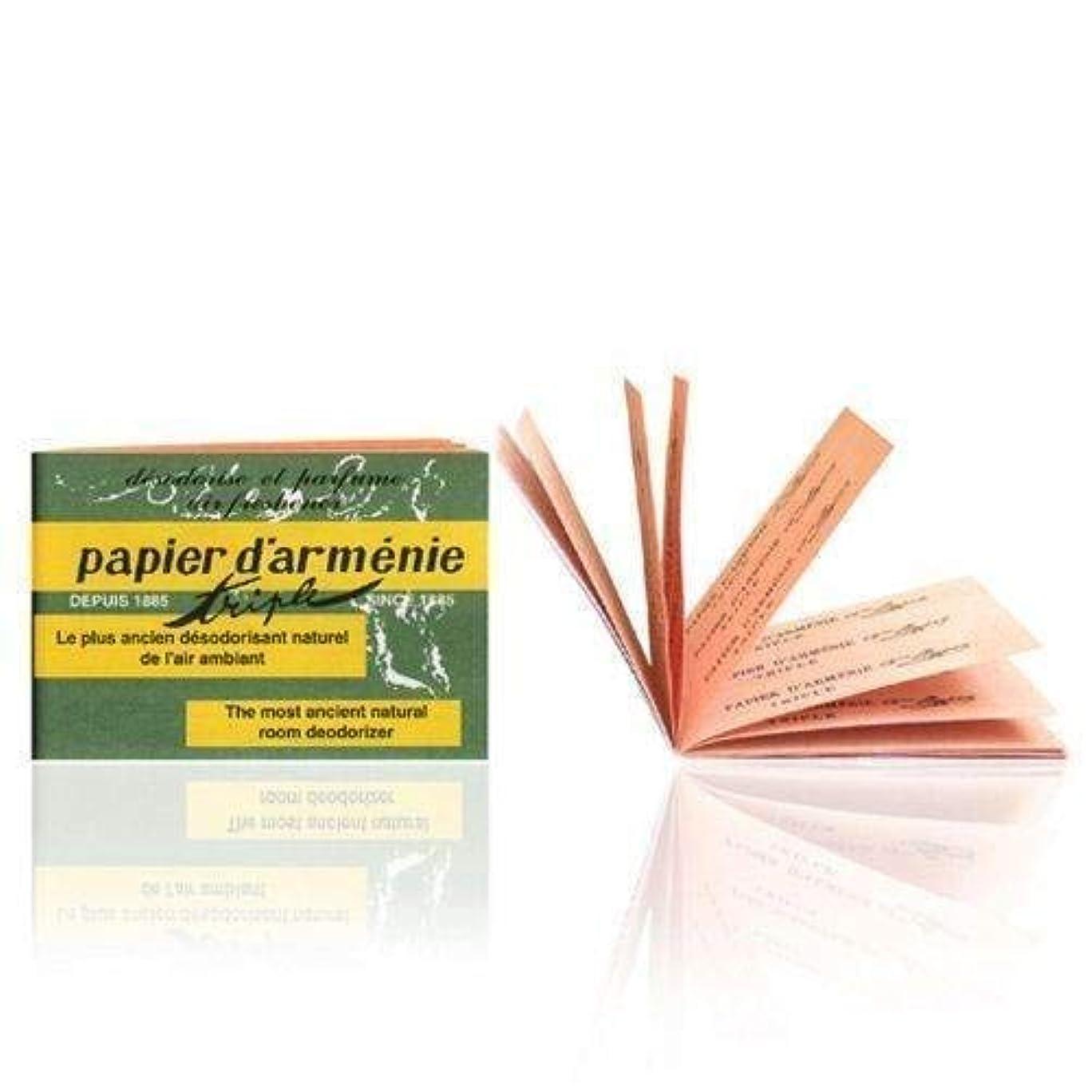 インポートアラスカれるPapier d'Arménie パピエダルメニイ トリプル 紙のお香 フランス直送 [並行輸入品]