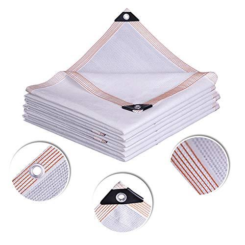 Rectángulo Blanco Sun Shade Sail, Paño de Sombra para Patio al Aire Libre 85% de Protección UV, Ideal para Cubierta de Pérgola (Size : 2X2m)