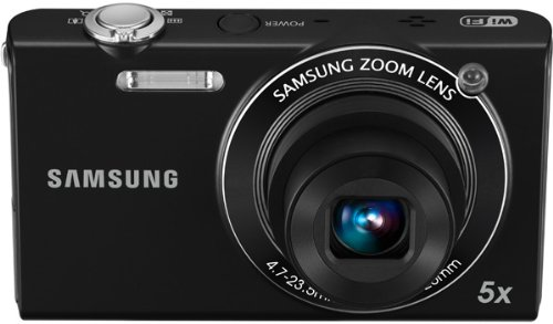 Samsung SH100 - Cámara Digital Compacta 14.2 MP (3 Pulgadas LCD, 5X Zoom Óptico)