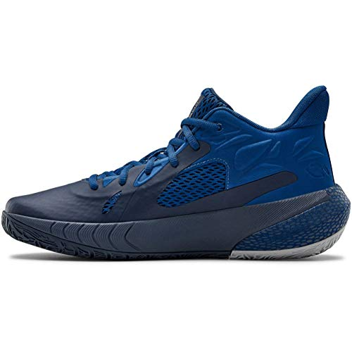 Under Armour - HOVR Havoc 3 - Zapatillas de baloncesto, azul (Azul Academy (405)/Azul grafito), 38.5 EU