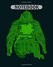 Notebook: bionics - 50 sheets, 100 pages - 8 x 10 inches