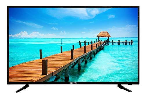 ZENYTH ZYS49FHD 2019 SMART TV LED FULL HD 49 Pollici Perfetta Per Casa, Uffici e Alberghi, 1920x1080 Pixel 60 Hz, 3 Porte HDMI, 1 porta USB, 1 presa SCART, HOTEL MODE, DVB-T2, Nero, Classe A