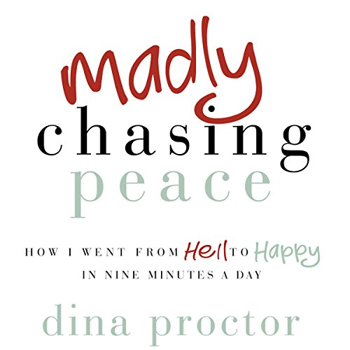 Madly Chasing Peace audiobook cover art