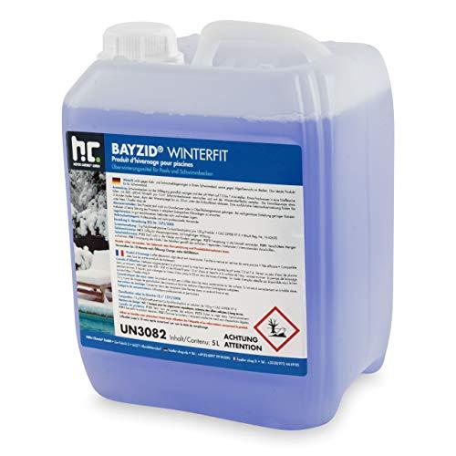 1 x 5 L Pool Wintermittel - BAYZID Winterfit Überwinterungskonzentrat für Schwimmbad und Pool von Höfer Chemie