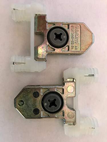 8 Stück blum TANDEMBOX Frontbefestigung, symmetrisch, INSERTA, ZSF.3902
