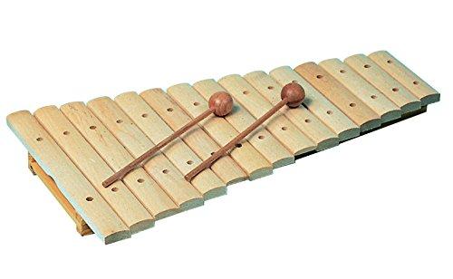Goldon11210Xylophon mit 15 Klangstäben in bunter Einzelhandelsverpackung
