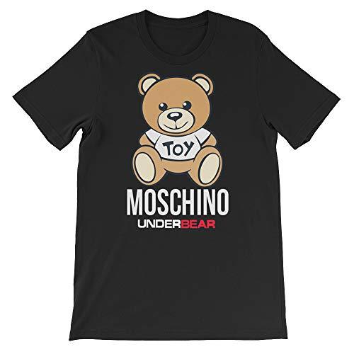 Moschino UnderBEAR Unisex T-Shirt Black