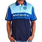 Rocawear Authentic Short Sleeve Men's Blue Classic FIT Polo Shirt (L)