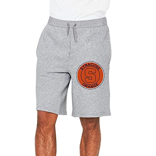 Glorstar Syracuse Fans Orange Mens Shorts Drawstring Pockets Elastic Waist