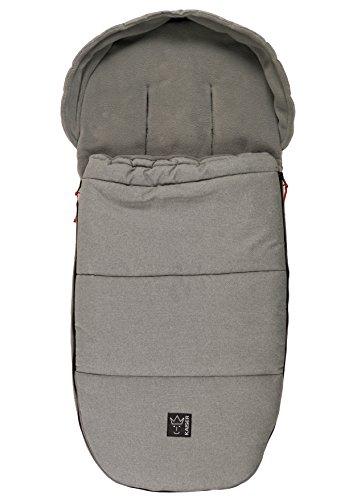 Kaiser Louis Thermo Fleece - Saco de dormir para bebé, color gris