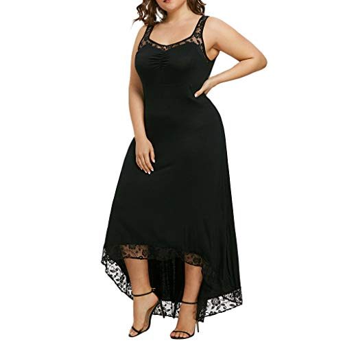 ZZXIAN Strandjurk dames zomer lang grote maten, zomerjurk mouwloos casual elegant boho feestelijk voor vrouwen jurk party avondjurken sexy