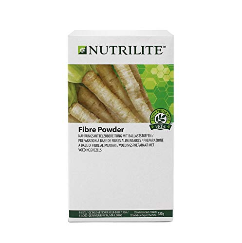 Fibre Powder NUTRILITE™ - Packung mit 30 Beuteln. Ein Beutel enthält 5 g lösliche Ballaststoffe - Amway - (Art.-Nr.: 102736)