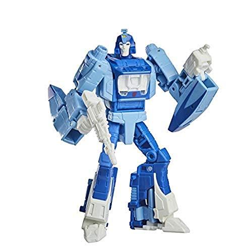 Transformers Spielzeug Studio Series 86-03 Deluxe-Klasse Kampf um Cybertron 1986 Blurr Action-Figur – Ab 8 Jahren, 11 cm