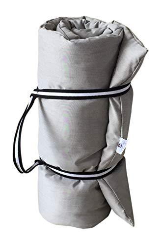 Futon aus reiner Baumwolle Reise, Massagetisch, für Yoga, tragbar. Maße 160 x 200 cm