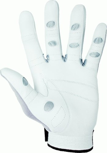 Louisville Slugger Bionic Men's Left Hand Tennis Glove - Grey/Black, XX-large Pack
