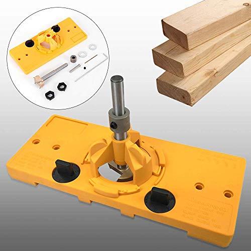 Relaxbx boren hulpmiddel scharnier boren gereedschap set houtbewerking gids gat Punch 35 mm scharnier timmerman boren gereedschap voor 35 mm scharnier