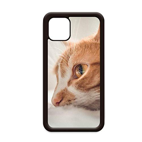 Animal Pure Cat fotografía imagen para iPhone 12 Pro Max cubierta para Apple Mini Mobile Case Shell