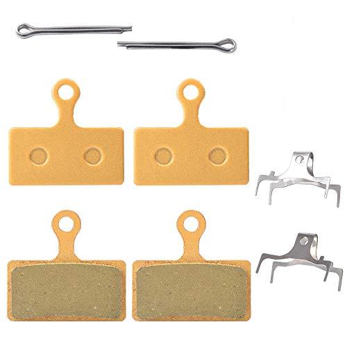 2 Paar Bremsbeläge für Shimano XT Br-M8000 M785 XTR M9000 M9020 M987 M988 M985 SLX M7000 M675 M666 Deore M615 RS785 R785 CX75 R515 R315 R317 R517 Alfine S700 DBP-G02A (gesintertes Metall)