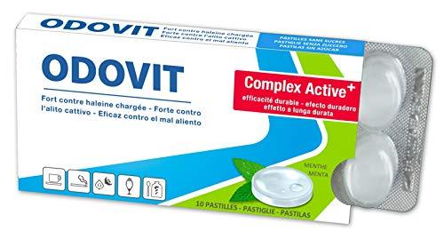 Mundgeruch – dagegen hilft ODOVIT : 5x Mundpflege-Bonbons 10er – Stark gegen Mundgeruch – mild im Geschmack – für nachhaltig frischen Atem - 5