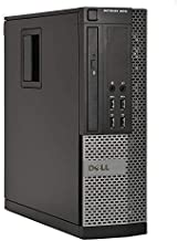 Dell Optiplex 9010 SFF Desktop PC - Intel Core i5-3470 3.2GHz 16GB 2TB DVD Windows 10 Pro, WIFI, HDMI (Renewed)