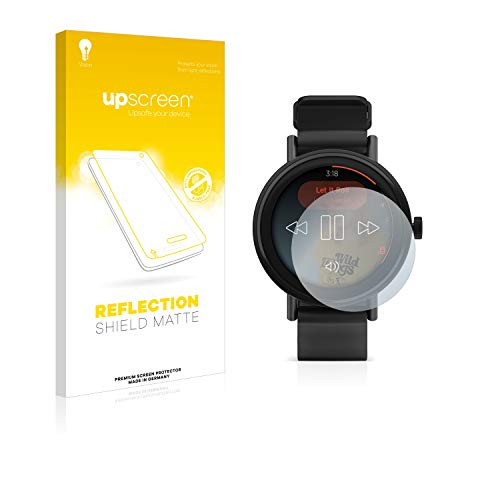 upscreen Entspiegelungs-Schutzfolie kompatibel mit Misfit Vapor 2 (41 mm) – Anti-Reflex Bildschirmschutz-Folie Matt