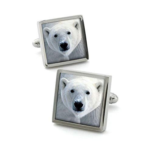 Robert Charles - Boutons De Manchette, Polar Bear
