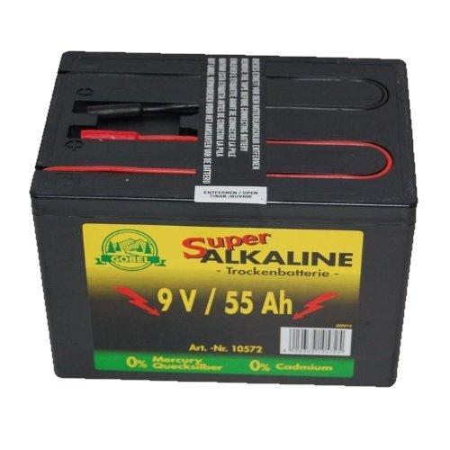 Weidezaunbatterie 9V/55 Ah Göbel Landfuxx