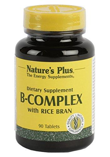 B-Complex avec son de riz, 90 comprimés - Nature Plus de