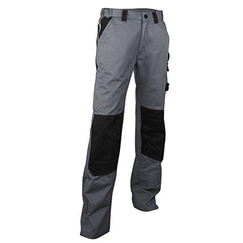 Pantalon de chantier à genouillères LMA Plomb 130300 T44