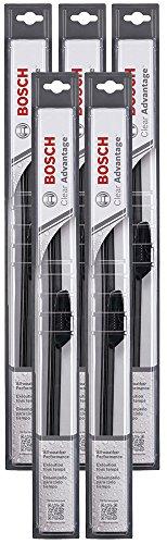 """Bosch 22CA Clear Advantage Wiper Blade - 22"""" (Pack of 5)"""